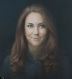 Face of royalty: The picture may well prove divisive, since it shows an unsmiling Kate with creases and shadows under her eyes - looking older than her years