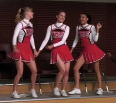 Brittany And Santana, Quinn Fabray, Glee Club, Naya Rivera, Cheer Skirts, Tv Shows, Fandoms, Relationship, High School