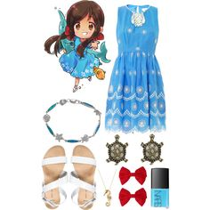 Aph Seychelles // Hetalia by ginger-coloured on Polyvore
