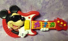 Mickeys Rock Star Guitar Mattel Musical toy Disney Fisher Price #FisherPrice