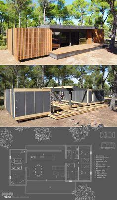 Container House - PopUp House é uma casa pré-fabricada reciclável que você monta com uma chave de fenda stylo urbano - Who Else Wants Simple Step-By-Step Plans To Design And Build A Container Home From Scratch?