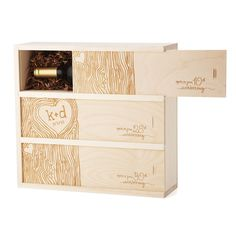 Anniversary Wine Box, $130-180