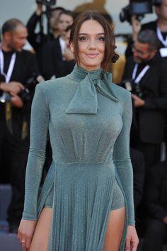 Celebrity Updates, Film Festival, Venice, Red Carpet, High Neck Dress, Street Style, Celebrities, Model, Dresses