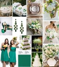 Get inspired by the 2013 color of the year: Emerald! via @Donna Morgan