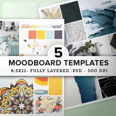 Create intutive moodboard easily with this set of multipurpose collage templates. Display your photos or projects with style & make a big