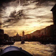 Canal Grande in Venice, Veneto