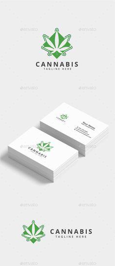 #Cannabis #Marijuana #Logo - Nature Logo Templates