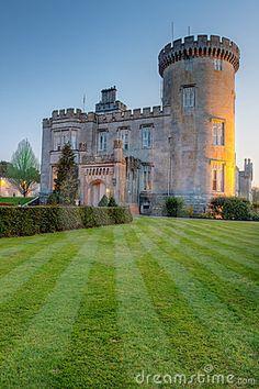 Dromoland Castle At Dusk In West Ireland © Pajda83