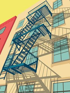 Art / Greenwich Village New York City Illustration by Remko Heemskerk Greenwich Village, City Illustration, Graphic Design Illustration, City Poster, Lower East Side, Art Graphique, Illustrations Posters, Mail Art, Concept Art