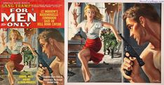 FOR MEN ONLY, March 1963, art by Mort Kunstler (Rich Oberg Collection) | Flickr - Photo Sharing!
