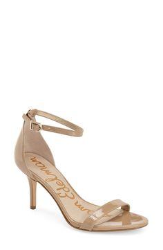 Sam Edelman 'Patti' Ankle Strap Sandal (Women) available at #Nordstrom