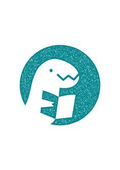 Dino Education logo - Yuliya Gwilym illustration & design