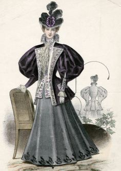 Victorian Fashion - 1893 to 1896