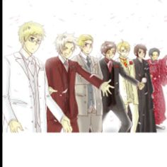 :D I'm imagining them dressed like this for like prom..<3 and wating for you at the entrance * cue volcanic nose bleeding!*
