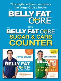 The Belly Fat Cure Combo Pack: Includes The Belly Fat Cure and The Belly Fat Cure Sugar & Carb Counter by Jorge Cruise, http://www.amazon.com/dp/B0058TKYB8/ref=cm_sw_r_pi_dp_qEHYpb1GN6EVP