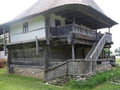 Gorj wooden house