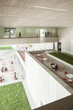Klotziger Katalysator - Kongresszentrum in Lima