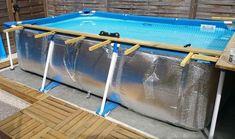 ein pool auf dem boden mit paletten 2 pool verkleiden versch nern pinterest boden. Black Bedroom Furniture Sets. Home Design Ideas