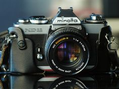 Minolta XD-11 with 50mm f1.4 Rokkor-X, arguably a better fast 50 than the Nikkor.