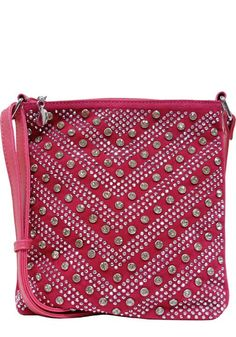Available at TheBlingThing.com!This gorgeous studded cross body!