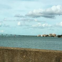 #beautiful view from the #siestakey bridge today. Hoping everyone is having a lovely afternoon! #altezvacations is setting up a villa for our new #guests tomorrow!  #homeawayfromhome #adventuretravel #beachtravel #villa #vacationrental #vacationgetaway #vacationmemories #beautyeverywhere #servicewithheart #servicewithasmile