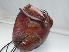 Authentic Armadillo Accessories: Pb Bikes Selling Real Armadillo Purse with Rhinestone Eyes