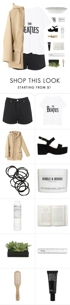 """""""WE'LL GO SLOW AND HIGH TEMPO"""" by thenewgirl3 ❤ liked on Polyvore featuring Boohoo, MANGO, A.P.C., Marc Jacobs, Monki, Windle & Moodie, Korres, Lux-Art Silks, Philip Kingsley and Make"""