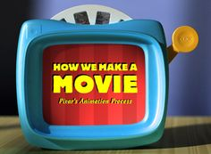 "Pixar's ""How we make a Movie"" slideshow done in Viewmaster style."