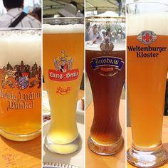 オオサカ オクトーバー フェストいい天気でビールがうまかった 相席した人と乾杯してとても楽しい時間でした #beer #germanbeer #oktoberfest #osaka #大阪