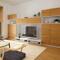 リビング/DAIKEN/ミセル/壁面収納/収納/テレビボード...などのインテリア実例 - 2017-07-27 08:37:04   RoomClip (ルームクリップ) Tv Wall Decor, The Unit, Cabinet, Living Room, Storage, Interior, House, Furniture, Home Decor