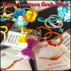 Grab Bags http://www.rosiecouturecollection.net/kids/grab-bags