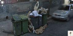 Dumped mannequins!