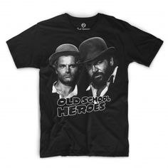Officially Licensed Bud Spencer T-Shirt.Cotton with high quality printing.