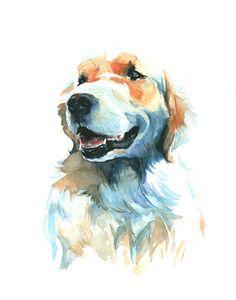 Custom Pet Portrait 8 x 10 x or