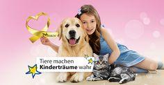 Gestern war #Welttierschutztag. Dazu unterstützen wir die Stiftung Kindertraum und Pet RIBBON®. Infos und Spenden auf www.petribbon.at powered by MMCAGENTUR.