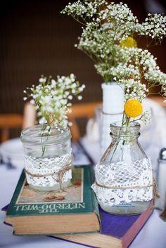 Real Wedding: Elizabeth and Daniel's DIY Barn Wedding