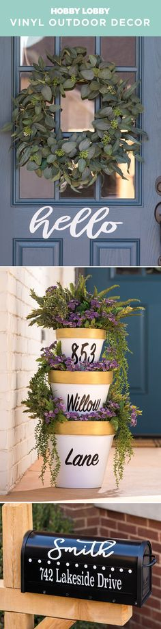 237 Best Outdoor Decor images in 2019 | Acrylic craft paint, Outdoor