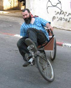 Mark Donde-Recumbent Cargo Bike