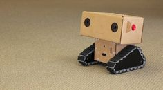 Boxie, a robot created at MIT Media Lab, relies on adorableness rather than artificial intelligence to meet its goals.