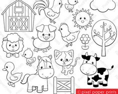 Are you looking for cute high quality images to use in your projects? You've come to the right place! You can print these digital stamps to
