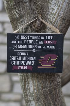 """the Best Things In Life"" Flying C Small Plaque (5.5x4"") 