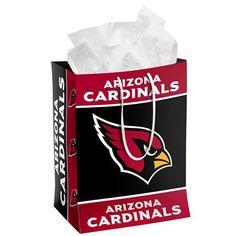 Arizona Cardinals Official NFL Medium Gift Bag