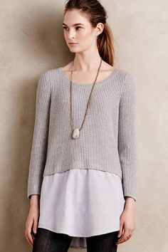 Moth Cia Pullover: http://www.stylemepretty.com/living/2015/11/14/what-to-wear-to-thanksgiving-dinner/