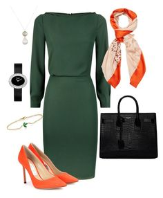 """""""Work #21"""" by rinpuririn on Polyvore featuring Reiss, Jimmy Choo, Zoe, Finn, Piaget, Yves Saint Laurent, Christian Dior, lookbook and fashionset"""