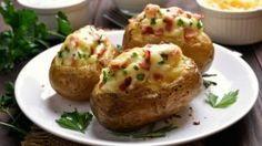 Stuffed potato with bacon | Casprezeny.sk