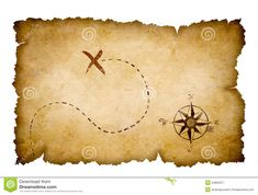 A treasure map is a map that marks the location of buried treasure, a lost mine, a valuable secret or a hidden locale.