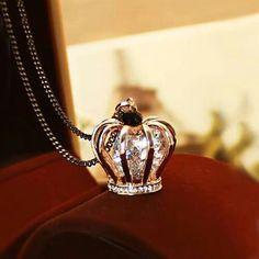 #crown#neck#diamond