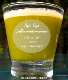 Three Juice Recipes for Immunity, Inflammation, & Detoxification. #Juicing #Healthy www.alisonsmith.com