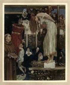 001 -Le morte Darthur 1921- William Russell Flint