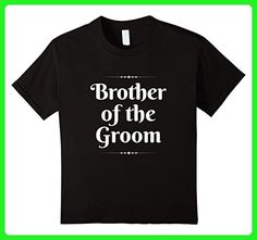 Kids Brother Of The Groom Cute Wedding Party Gift T-Shirt 4 Black - Wedding shirts (*Amazon Partner-Link)
